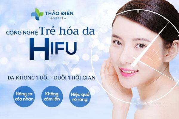 nâng cơ trẻ hóa da hifu